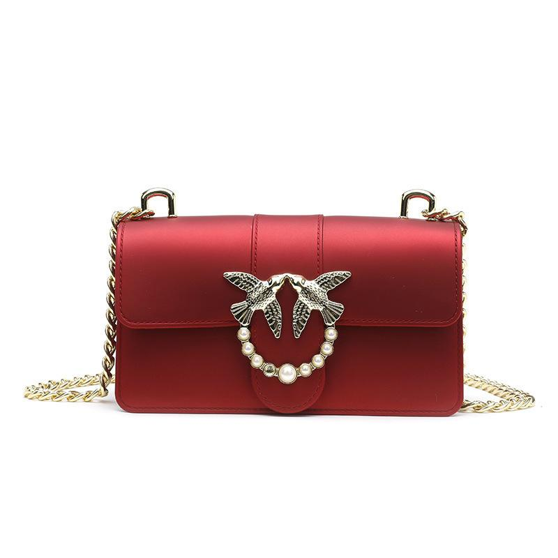 Belle2019 Rui Man Ins Exceed Fire Swallow Woman Chain Package Single Shoulder Span Small Bag Dumb Light If