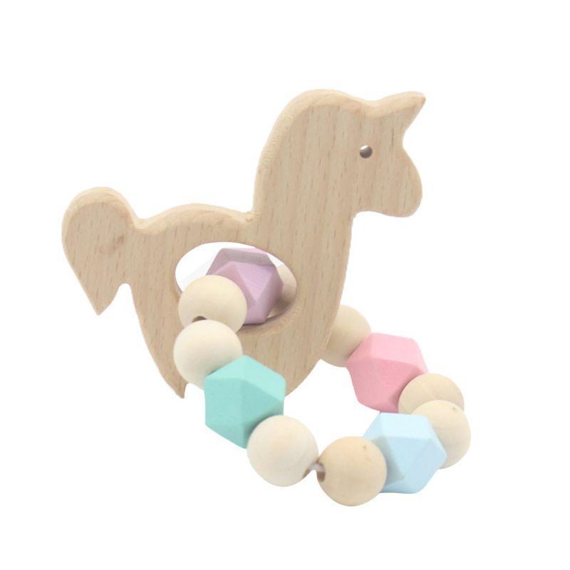 Beißen Baby Beißring Armband Molar-Stick Übung Non Toxic Silikon-Stock-nette Karikatur-Muster-Spielzeug Kleine Geschenke