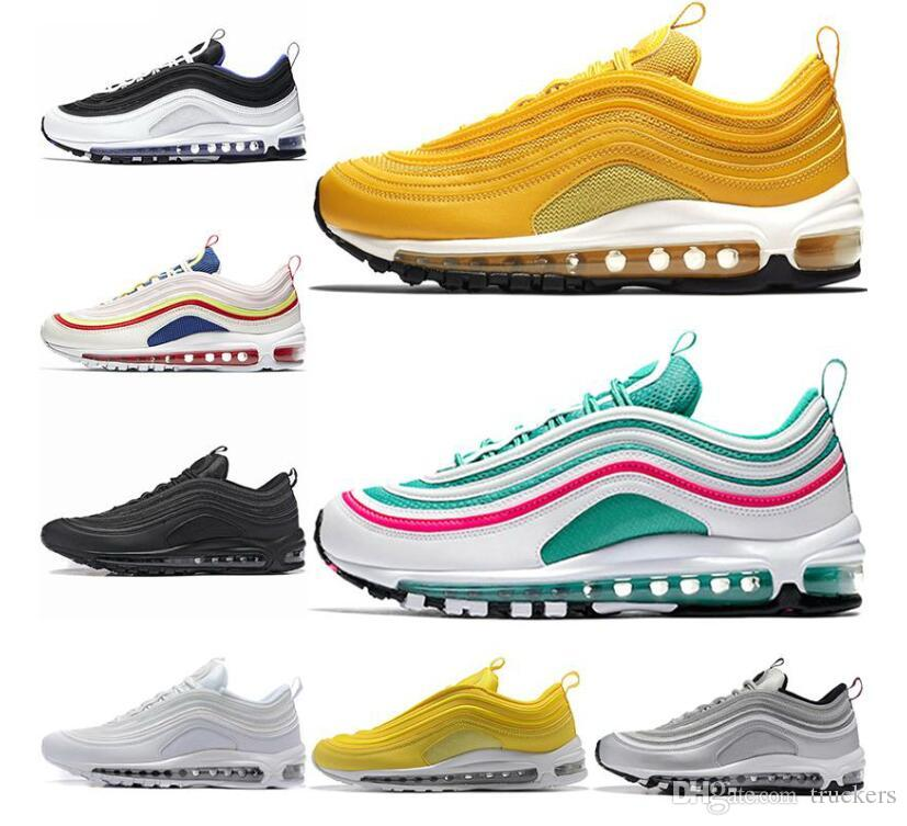 2019 Undefeated Ultra OG Plus Men Running Shoes Run Sports Jogging Walking Blue White 97s Mens Womens Trainers Athletic Sneakers Size 36-45