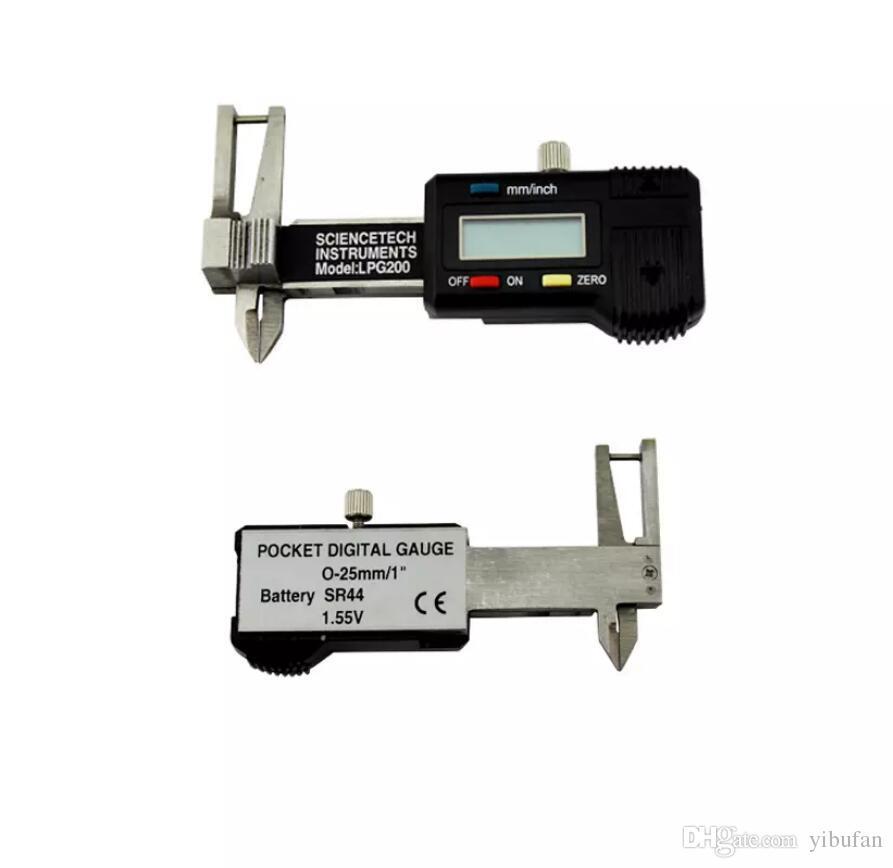 Pocket Digital Gauge 0-25mm/1'' Digital Caliper With Electronic Digital Stainless Steel Measurement Jewelry Tool High