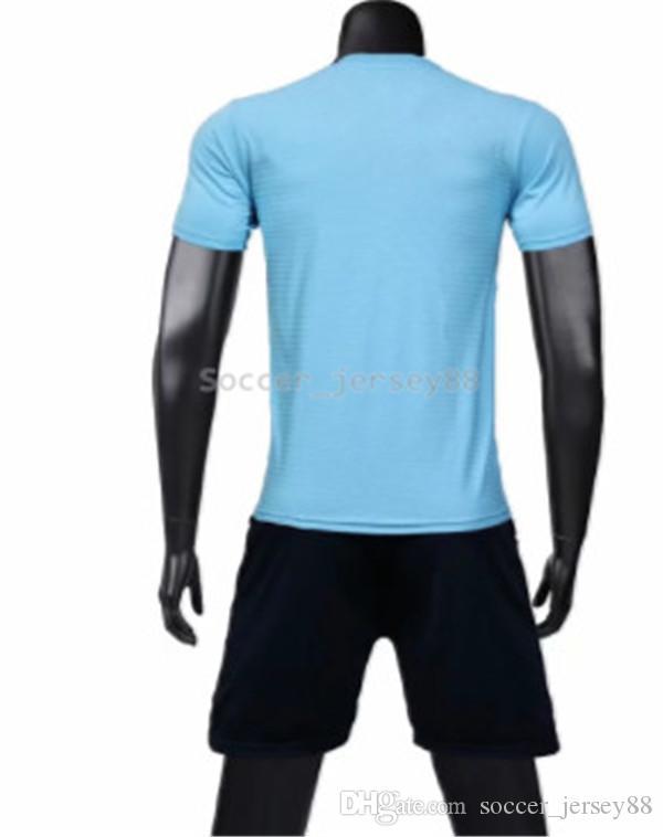 Nuevo llega el fútbol blanco Jersey # 1902-11 Personalizar camisetas de la venta caliente superior de secado rápido Calidad camiseta uniformes Jersey