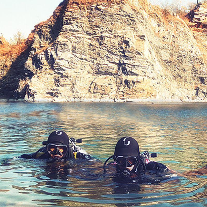 5MM الغوص هود الرجال والنساء الغوص الأمواج واقية من الشمس الغوص كاب شتاء التزحلق سباحة الغوص كاب الدافئة