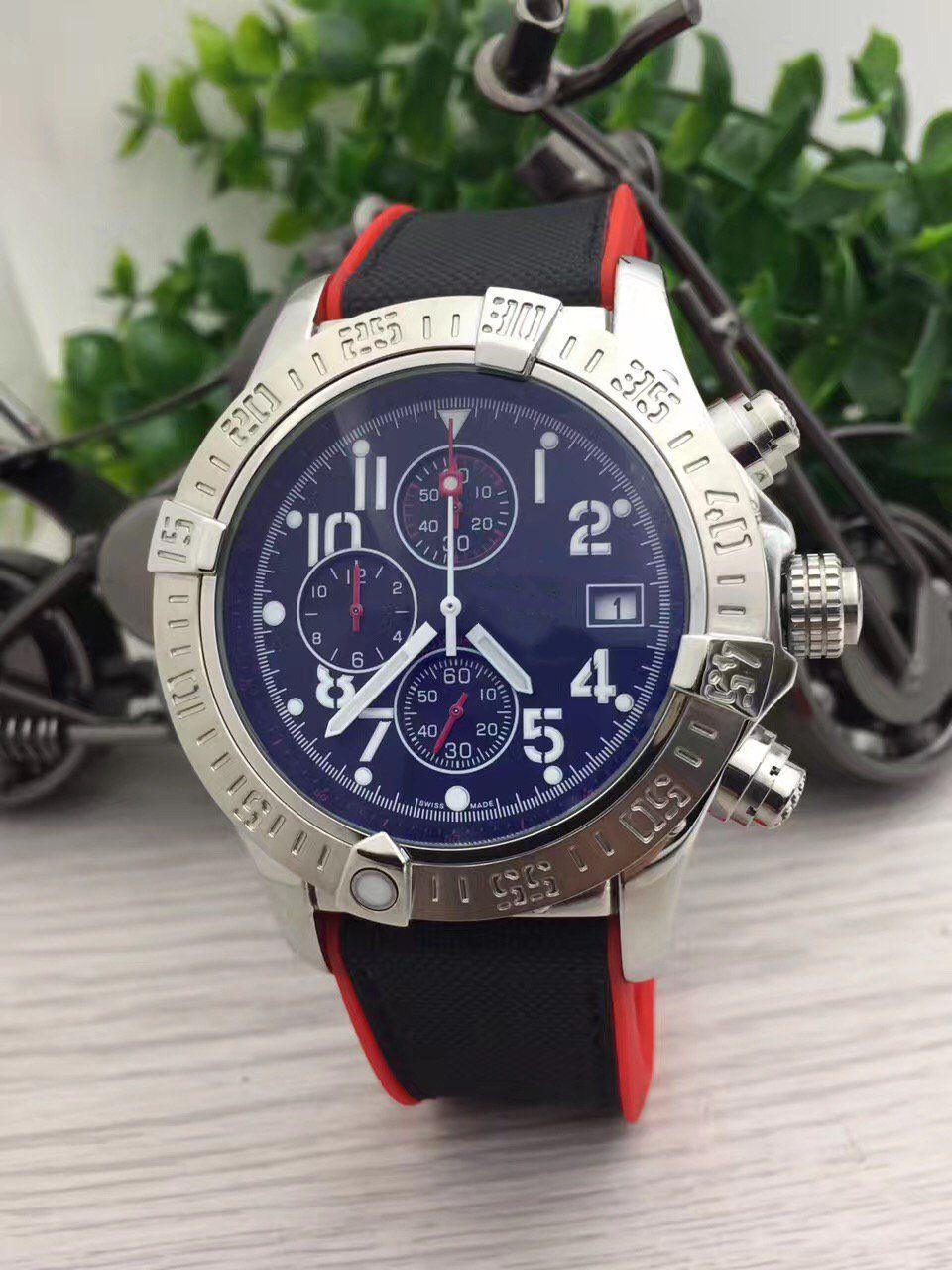 스톱워치 고급 시계 시계 쿼츠 스톱워치 시계 시계 스테인레스 스틸 시계 높은 quaity 남자 시계 스틸 시계 240