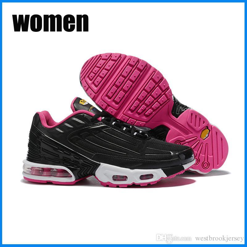 Rojo Azul Marca TN Plus 3 zapatillas de deporte de diseño Womens zapatos al aire libre Tns gimnasia de zapatos Blanco Negro Formadores Deporte Zapatos para barato