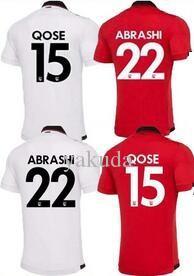 19-20 mens maglia dell'Albania di calcio, camicia di calcio di alta qualità 4 Hysaj Xhaka 14 QOSE 15 Balaj 19 Ismajli 16 pullover uniformi, Jersey su ordinazione