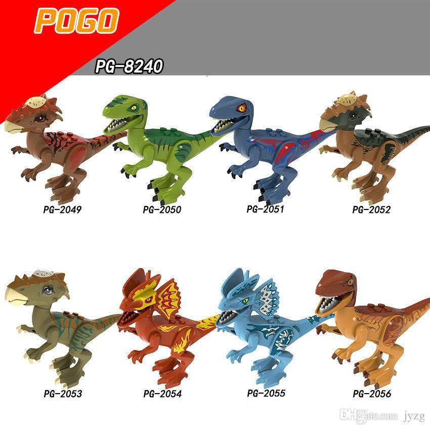 Figure Dinosaur Heroes Infinity War Guardians Of Galaxy Avengers Movies &Video Game &Cartoon Blocks Toys Figures Blocks Pg2049