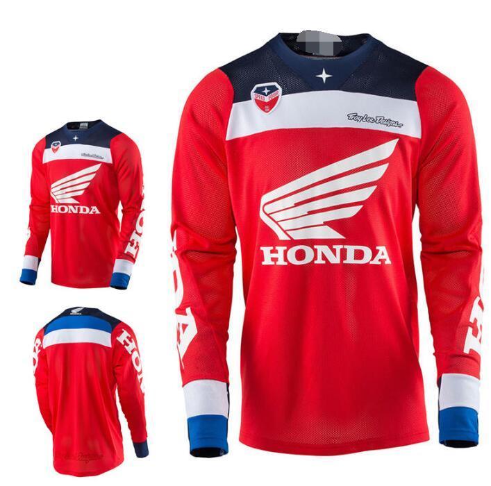 إلى أسفل الملابس هوندا فريق Edition SE AIR على الطرق الوعرة سباقات الدراجات النارية دعوى HONDA HD الصيف ركوب الدراجات دعوى قميص تي شيرت