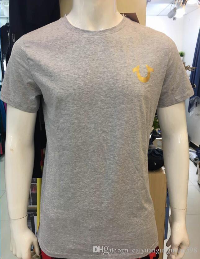 T2 High Quality USA Rosso Nero Bianco Mens Robin True Jeans T-Shirt da polo con ali Real American Jeans Mtorcycle Club Slim Manica corta