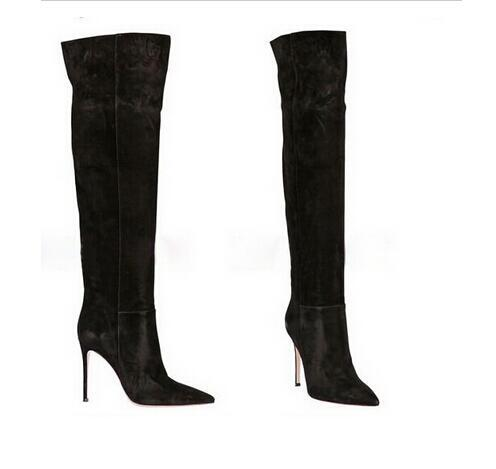 Sale Suede Over The Knee Boots Women