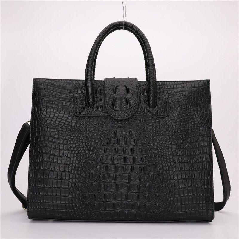 Nesitu A4 Blue Red Black Purple Split Leather Office Women Handbag Briefcase Lady Shoulder Messenger Bags Female Totes M10009