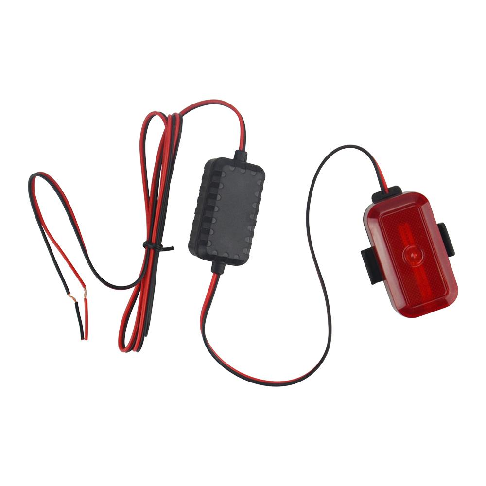 Portable T630 GPS tracker Build-in flash LED light to be the bicycle tail-light