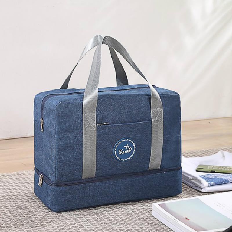 Сухой многофункциональный отделение путешествия влажное хранение отсека емкости фитнес большой и спортивный G127 нижняя сумка для хранения сумки UQRFX