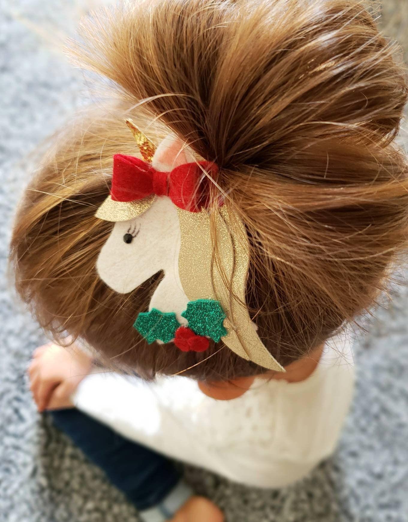 7 styles Unicorn Kids Headband Clips Baby Girls Cartoon Rainbow Hairband Hairpins Barrettes set for Kids Unicorn Horn Party Hair Acce