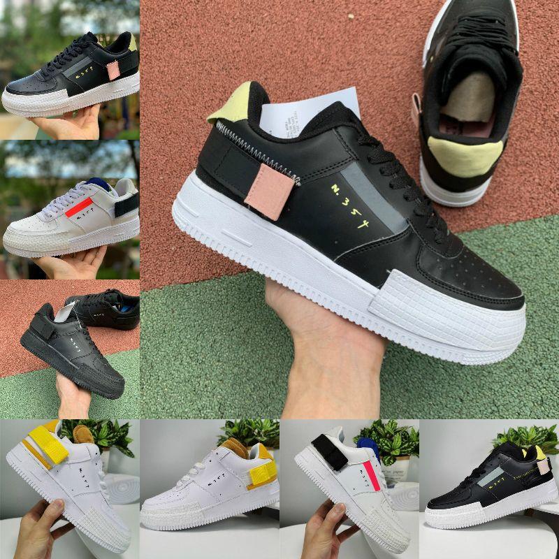 بيع N.354 رجل نوع GS عرضي أعلى منخفض 07 1 المرأة N354 مصمم أحذية المدربين دونك احد قص أسود أبيض أداة الهواء 1S سكيت الرياضة