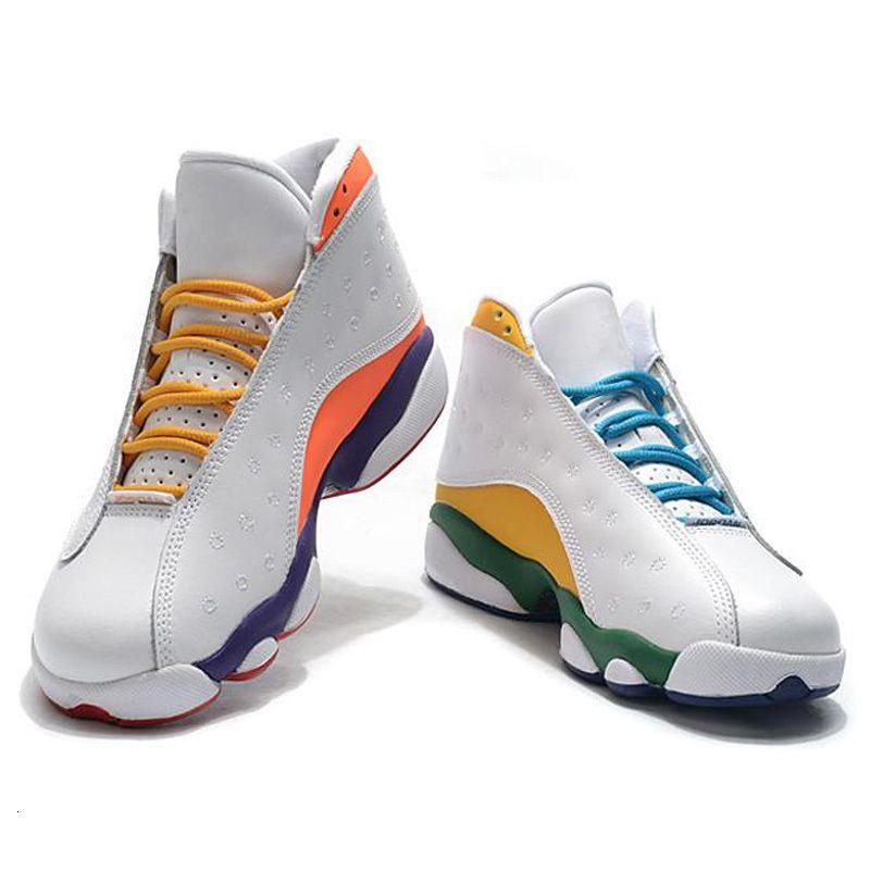 2020 neue Ankunfts-Jumpman 13 GS Spielplatz Schwarz Weiß Blau Rot 13s Kinder Frauen Männer Retro Basketball Sport Sneakers Outdoor-Schuhe