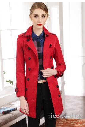 hot classic Spring women fashion England X-Long style trench coat/high quality brand name thin casual long trench/jacket B8684F310 4 colors