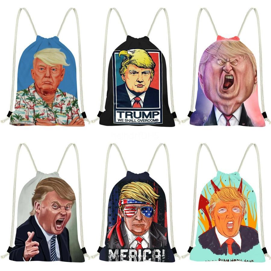 Çanta Yeni Pu Deri Vintage Tek Lüks Sırt Çantası Çanta Trump 2020 Bez Crossbody İçin Sırt Çantası 86841 # 787