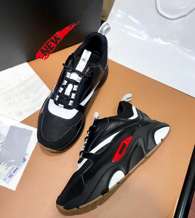 B22 Técnico Knit E bezerro Sneaker Mulheres Casual malha respirável Esportes Designer de Luxo Shoes Speed Trainer Homens Moda Sneaker M31