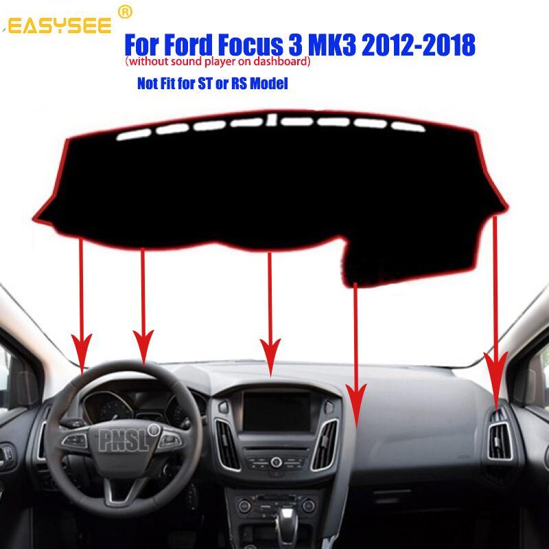 CAR Dashboard Dash Mat DashMat Sun Cover Pad For Ford Focus 2012-2018