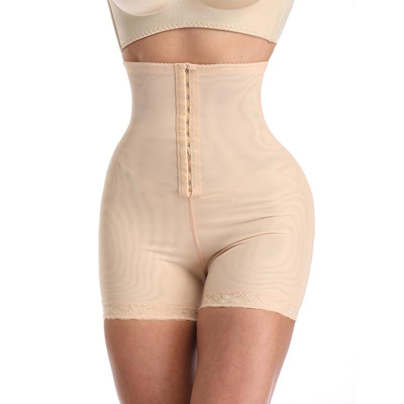 Plus Shapewear Workout Waist Trainer Corset Butt lifter Tummy Control Plus Size Booty Lift Pulling Underwear Shaper Women Ladies CX200624