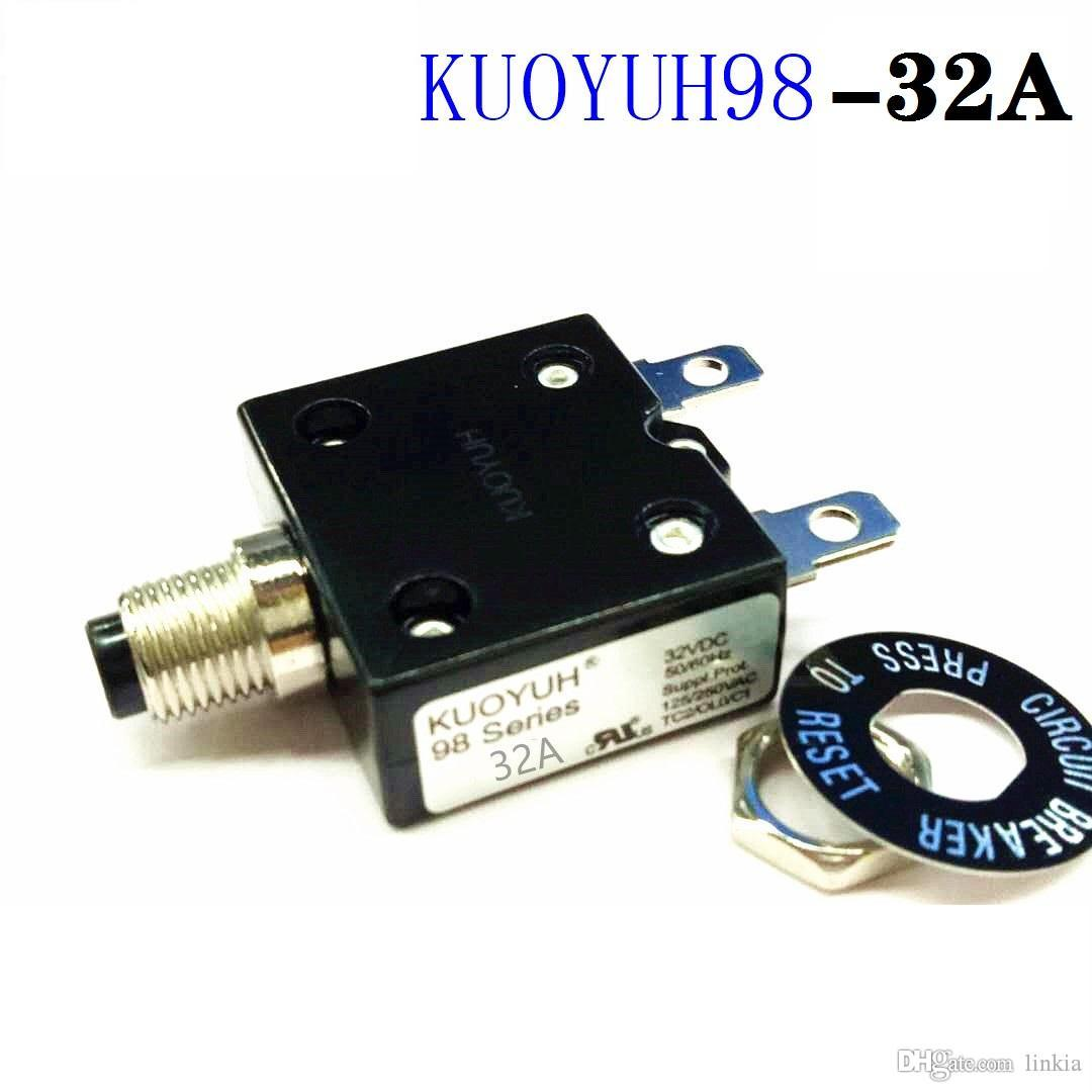 Taiwan KUOYUH 98 Series-32A Overcurrent Protector Overload Switch
