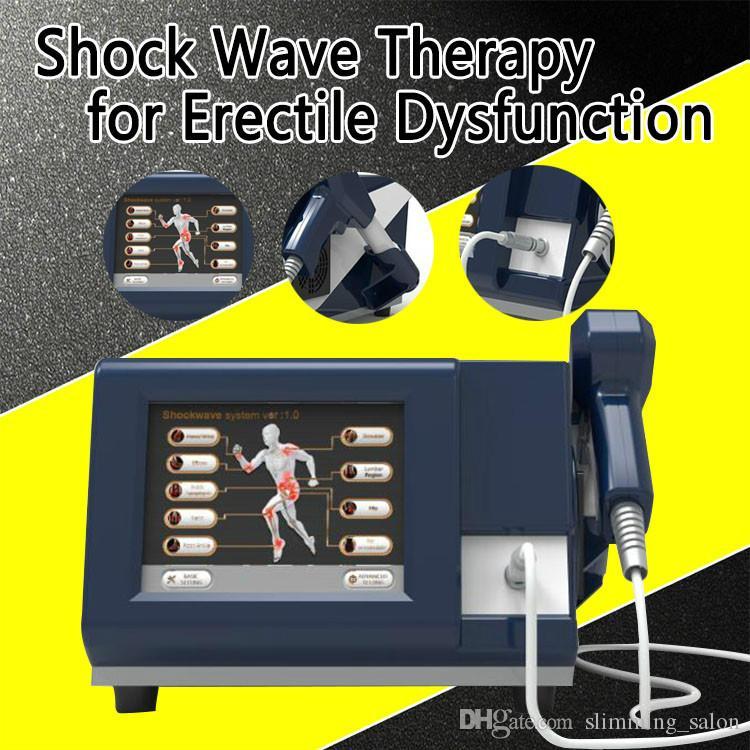 La onda de choque neumática reduce la fisioterapia portátil para el dolor corporal con 1.0 ~ 4.0 BAR Máquina de onda de choque extracorpórea de presión máxima