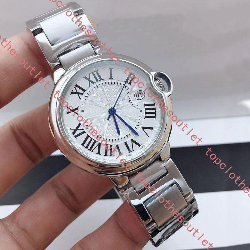 2020 새로운 패션 남성 시계 여자 시계 클래식 캐주얼 손목 시계 상자 선물 최고 품질 석영 Reloj 드 lujo