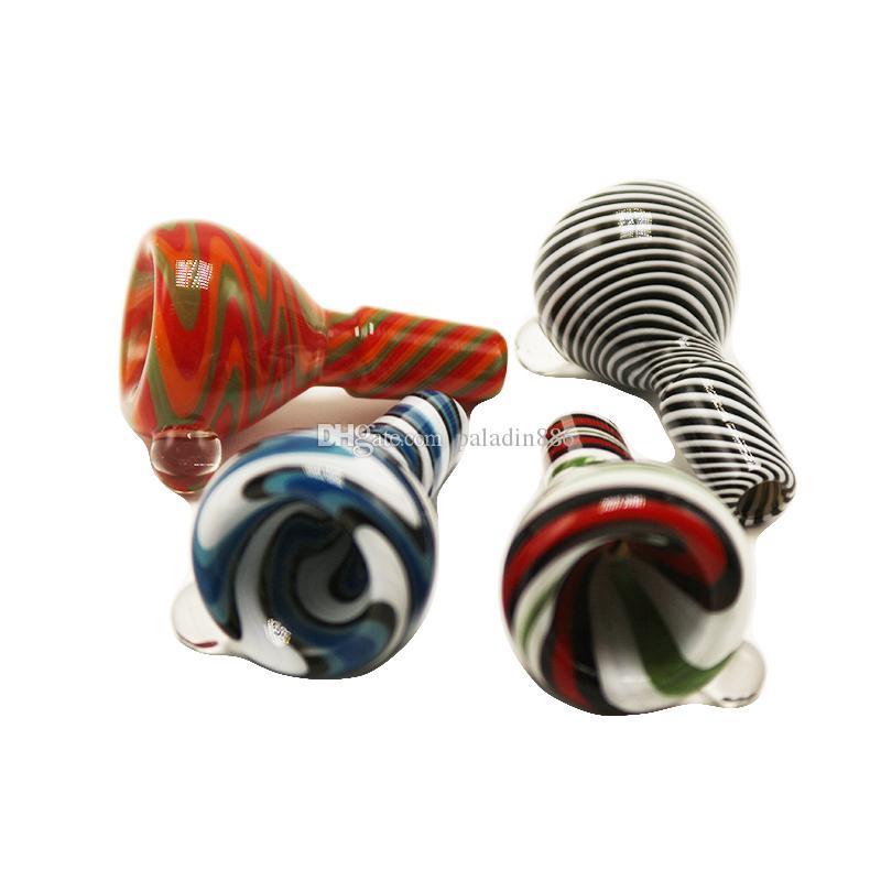 Neueste Bunte Glasschalen für Aschfänger Bongs Werkzeug 14mm 18mm Male Joint Rauchen Zubehör Für Bohrinsel Dab Rig Bongs Wasserpfeifen