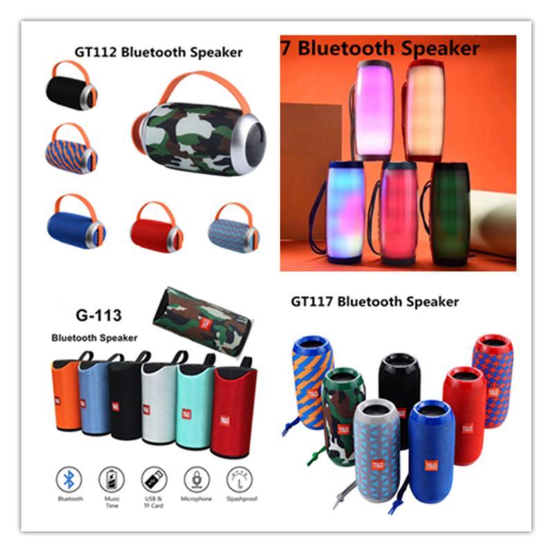 TG112 TG113 TG117 TG157 TG191 TG505 TG506 Bluetooth Speaker Portátil Mini sem fio HiFiPlayer Subwoofer Sound Box Handsfree FM TF USB AUX