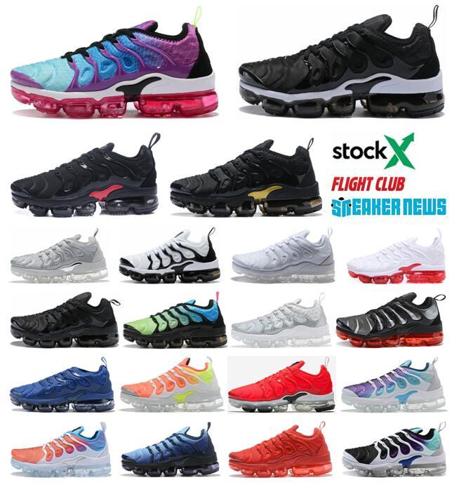 tn mens Shoes Women Plus Running Shoes Sneakers Hyper Blue Sunset Game Royal White Black Best TN Trainers Sport 5-12 With Box
