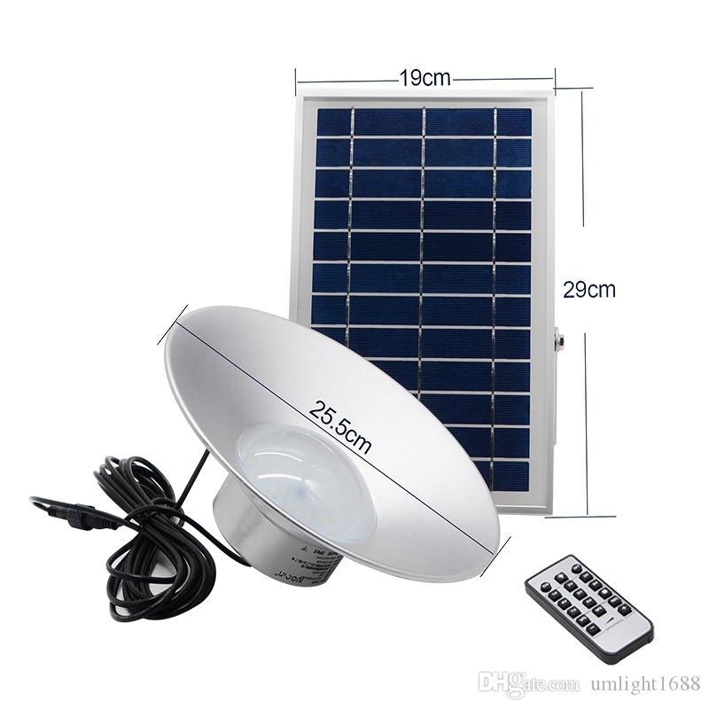 Umlight1688 Solar Pendelleuchte 36 LED Energiesparende, solarbetriebene LED Rope Pendelleuchte für die hängende Fernbedienung im Außenbereich