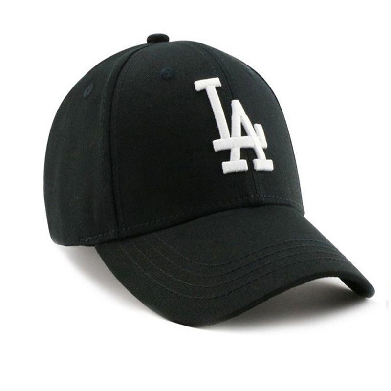 Venda quente novo estilo LA letra verão homens e mulheres chapéu tendência boné de beisebol cap cap carta sombrinha