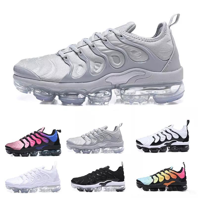 TN Inoltre il progettista del mens scarpe VM oliva in bianco metallico argento Colorways uomini scarpe per la corsa maschile Triple Pack Nero Mens Shoes40-45