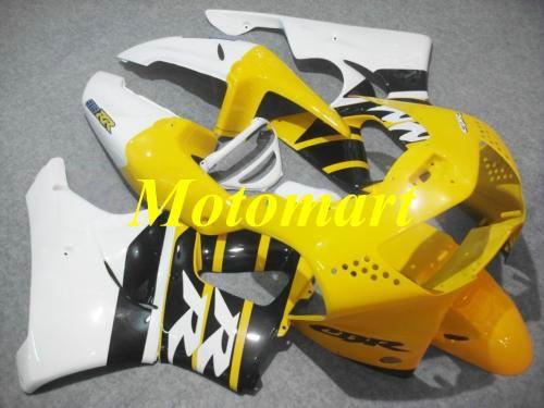 Kit de Carenagem da motocicleta para HONDA CBR900RR 919 98 99 CBR 900RR 1998 1999 ABS Branco amarelo Carimbos + presentes HC06