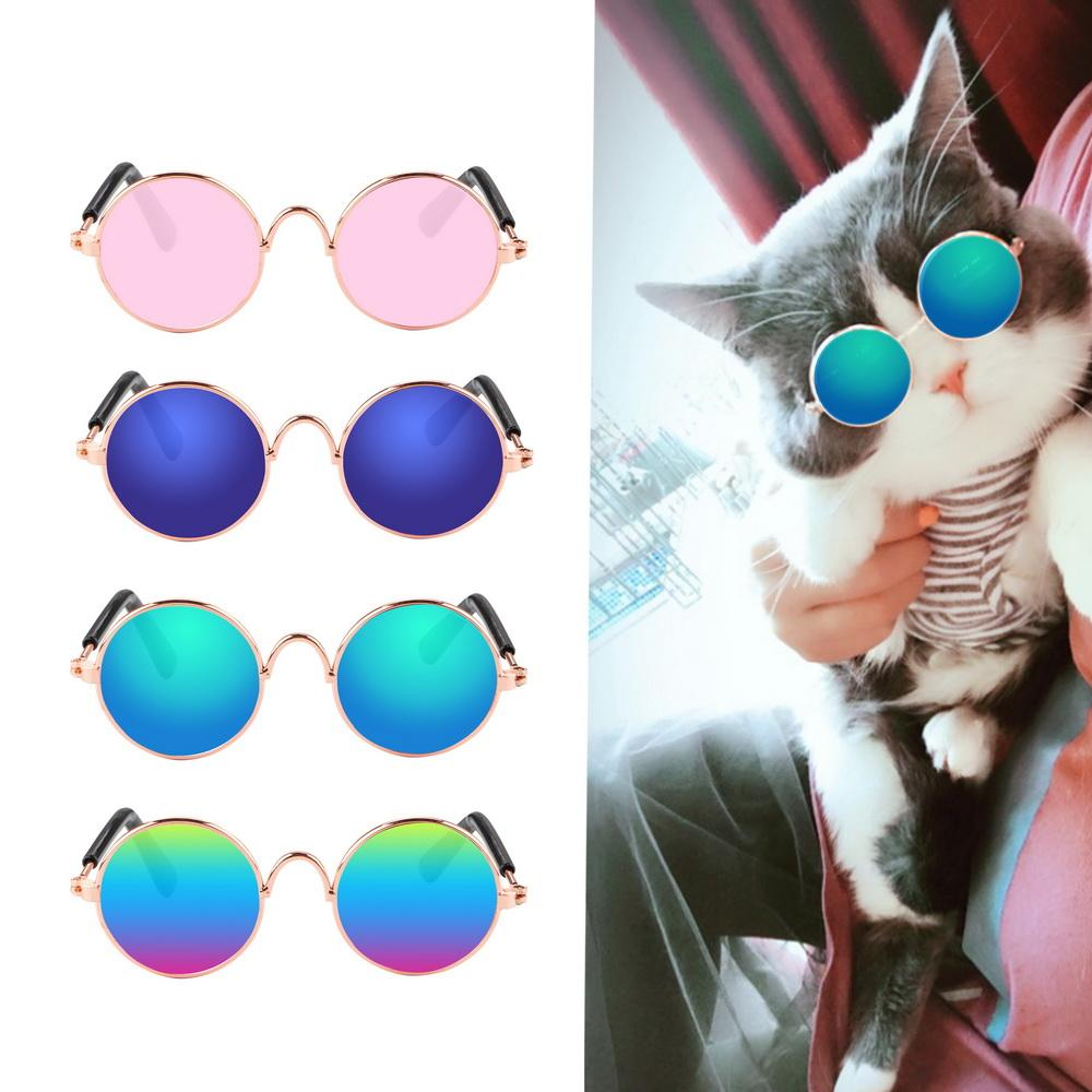 8.5cm Length Mini Dog Glasses Photos Props Accessories Pet Supplies Sunglasses Pet Product For Little Dog Cat Pet Cat Glasses