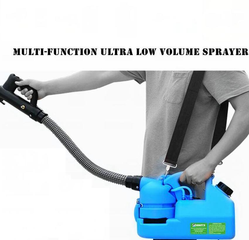 ULV 220V 7L elettrico Fogger Atomizer Ultra polverizzatori zanzara ULV Fogger Macchina zanzara giardino atomizzatore KKA7809