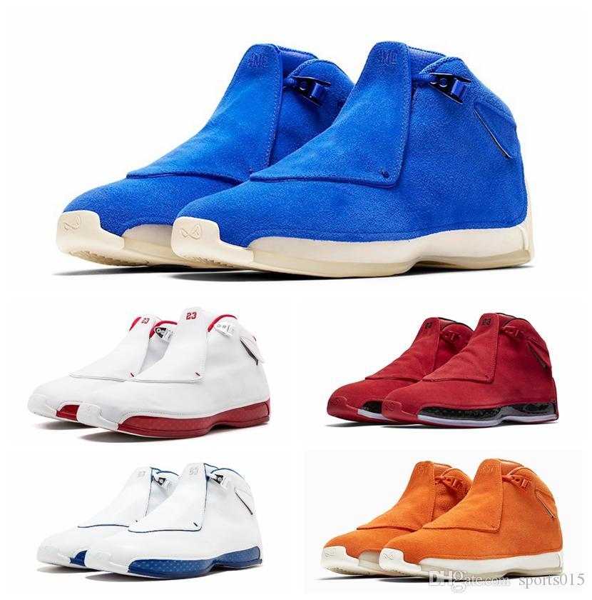 18 18-е годы XVIII Мужские баскетбольные кроссовки Toro OG ASG Черный Белый Красный Разноцветный Королевский Синий Спортивные спортивные кроссовки кроссовки дизайнер