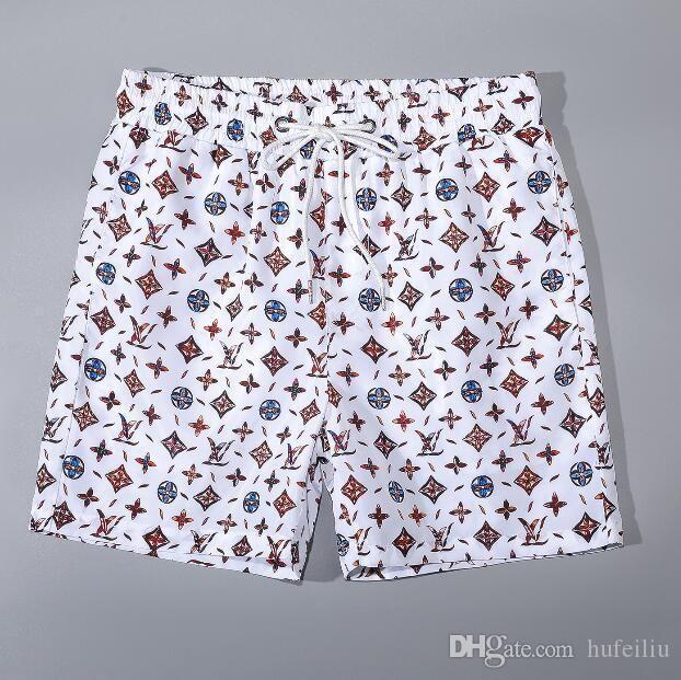 горячая мода доска дизайнер шорты мужские летние пляжные шорты спорт досуг стиль пляж серфинг плавание шорты высокое качество PantsKZ5