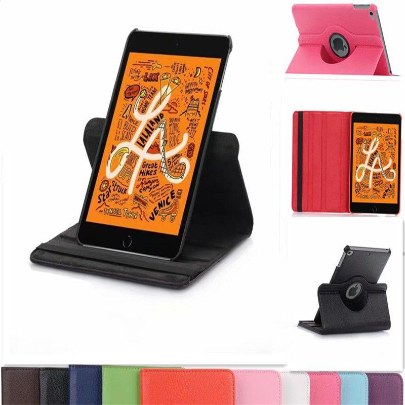 Para o Caso Tablet iPad 360 Rotating capa de couro para iPad 10.2 Pro 11 2020 10,5 Air Mini 5/4/3/2