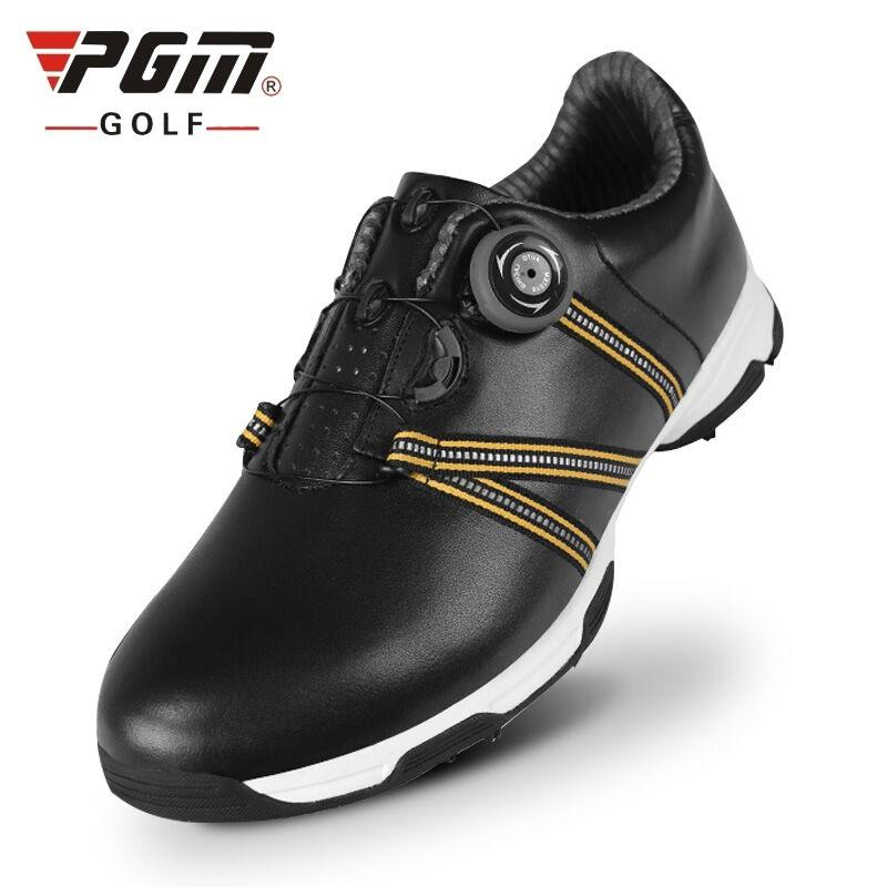High Quality Men Golf Shoes Men Spring And Autumn Waterproof Breathable Shoes Professional Leather Training 51041