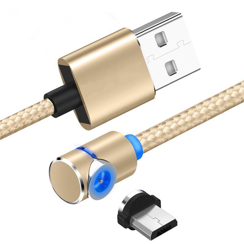 Магнитный Micro USB кабель для Samsung Android Быстрая зарядка Magnet зарядное устройство USB Type C кабель мобильного телефона провода шнура