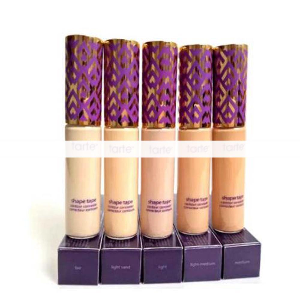 Top quality Shape Tape Contour Concealer 12 colors Fair Light Light Medium Light Sand Medium 10ml Liquid Foundation Concealer Pencil