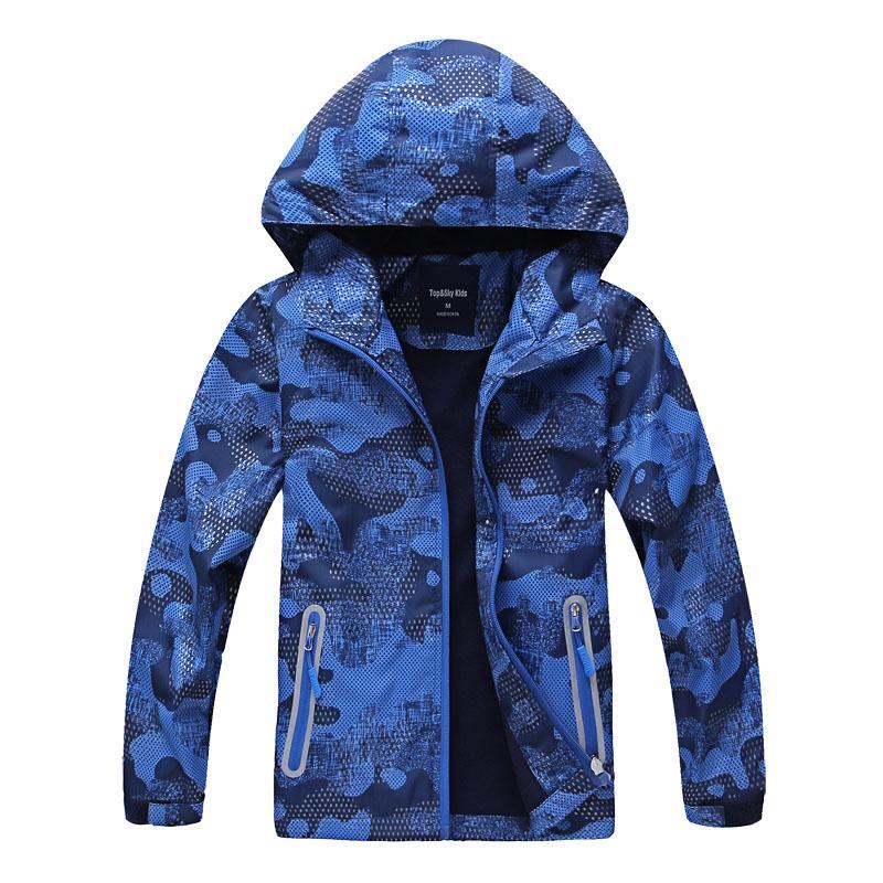 Winter Children Jackets Outerwear Polar Fleece Warm Coats Kids Clothes Sport Thick Coat Waterproof Windbreaker For Boys Jackets