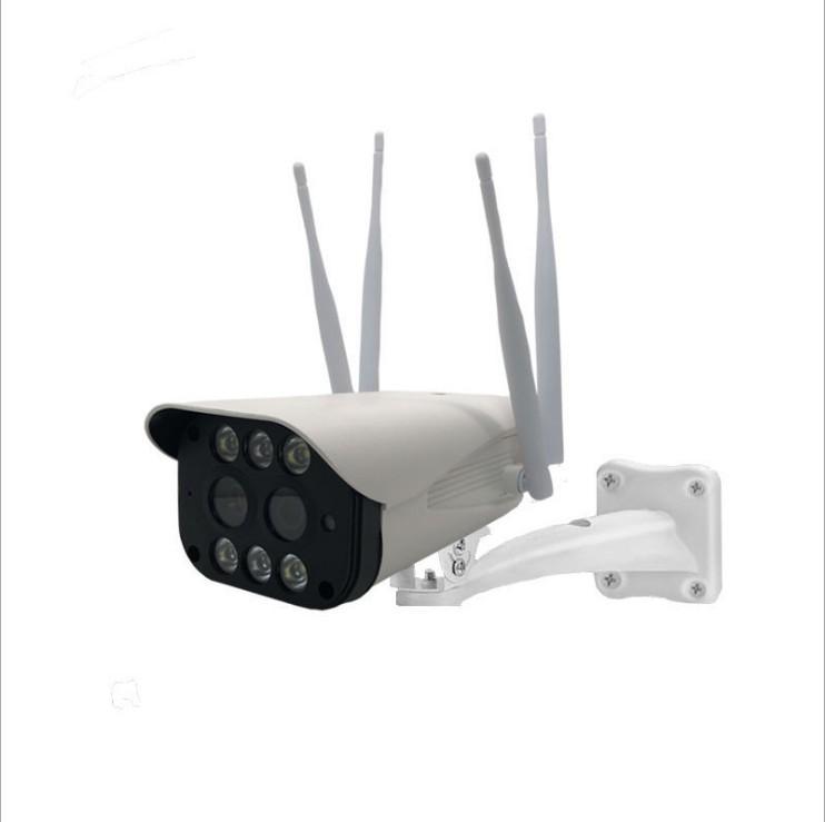 مجهر تكبير كاميرا مزدوجة العدسة في الهواء الطلق مقاوم للماء بندقية مراقب لاسلكي الرئيسية HD واي فاي عن بعد