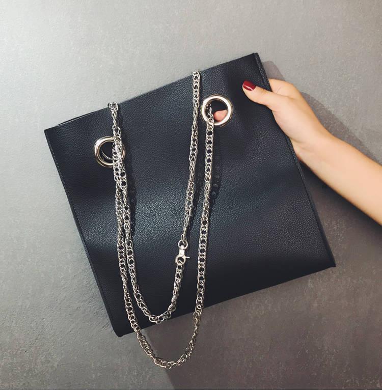 Borse da donna di design di lusso Borse a tracolla di moda pianura 2019 Borse a spalla più recenti Secchio di cuoio nero per regalo Vendita diretta