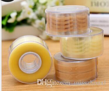 Nueva Belleza 600 unids Maquillaje de párpado invisible Borde de párpado Beige claro Ojo grande Fold Shadow Sticker Cinta de párpado doble herramienta