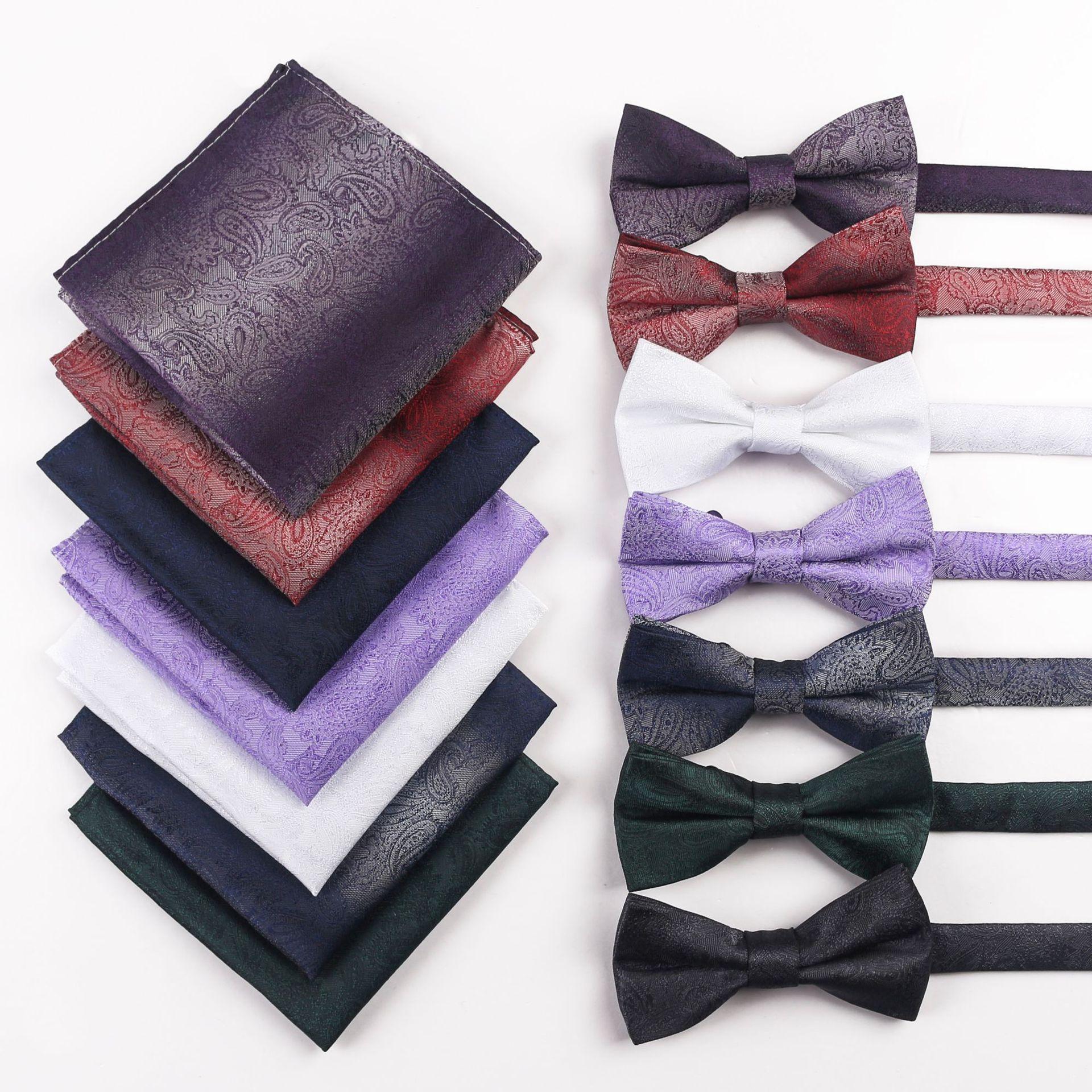 personalidad boda del hombre 2020 del diseñador de moda de los hombres de lujo collar salvaje simplicidad Joker Jacquard lazos para hombre mate seda hechos en China PB524T04