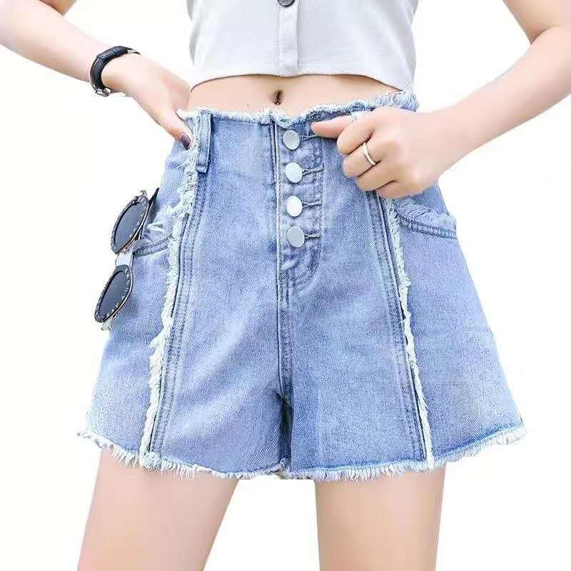 wholesale New Summer club Style Women Jeans ripped Holes girls pants Stretch fabric Slim vintage boyfriend jeans for female