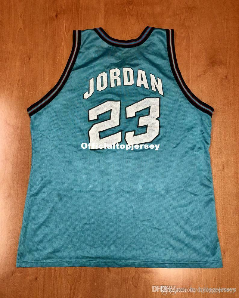 Ucuz 23. Vintage 1996 Michael Mj TOP Şampiyonu Jersey Men XS-5XL.6XL gömlek dikişli basketbol formaları Retro NCAA