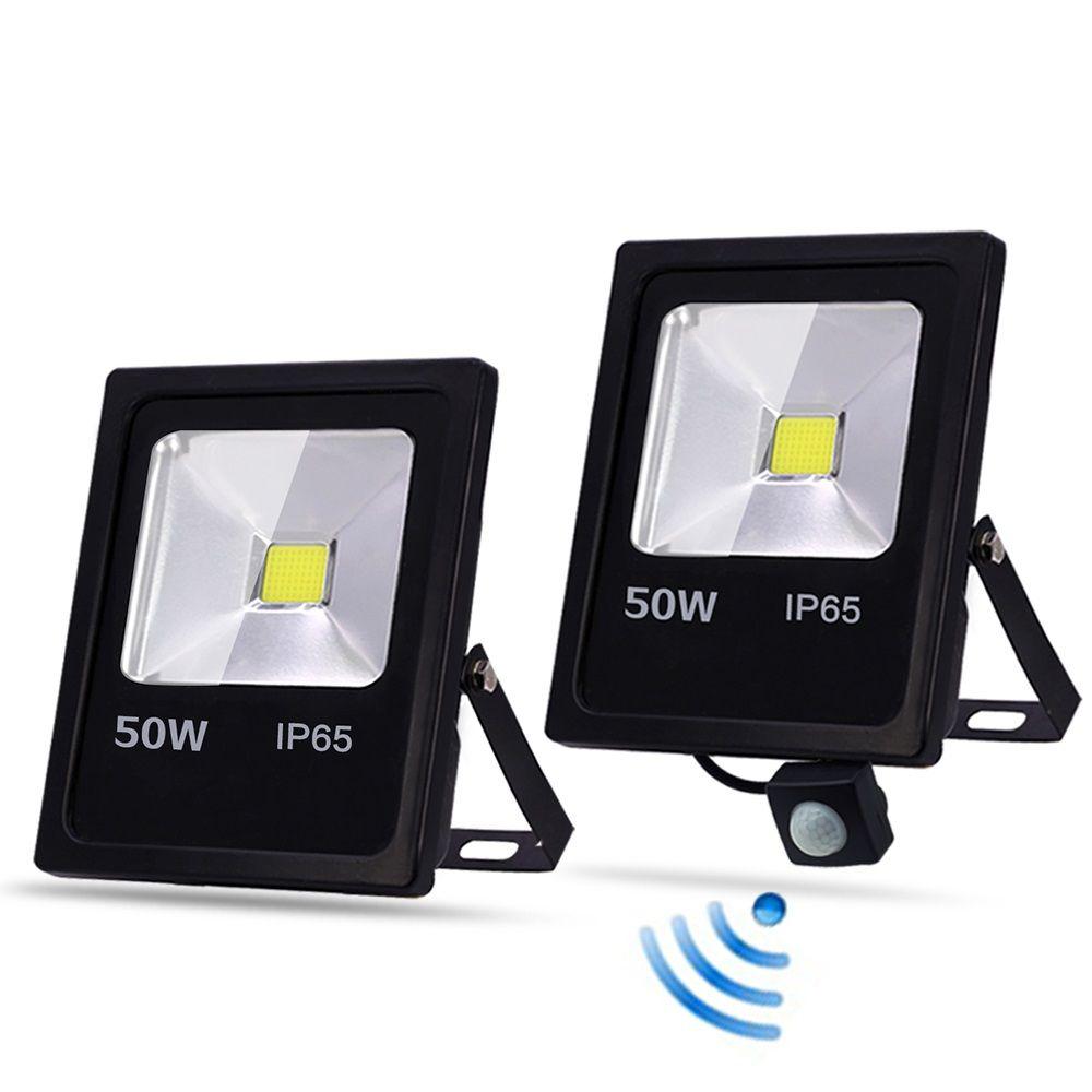 LED Flood Light 10W-500W SMD//PIR Motion Sensor Outdoor Floodlight Lamp IP65 110V